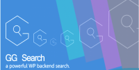 Gg search a powerful search backend wp