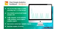 Google viavi analytics dashboard