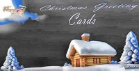 Greeting christmas cards