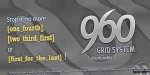 Grid 960 system shortcode
