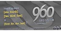 Grid 960 system shortcode