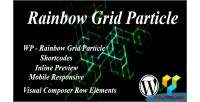 Grid rainbow particle
