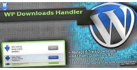 Handler downloads manager downloads wordpress