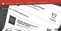 Helper affiliate wordpress plugin