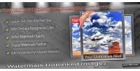 Hotlinked watermark images