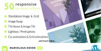 Hover marvelous plugin wordpress effects
