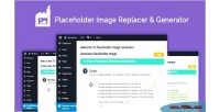 Image generator & replacer themes wordpress for image