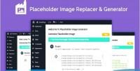 Image generator & replacer themes wordpress for image