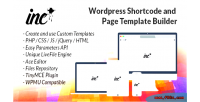 Inc advanced shortcode & creator template page