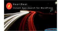 Instant heartbeat ajax wordpress for search