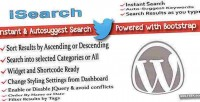 Instant wordpress search autosuggest keyword and