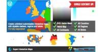 Interactive super wordpress for maps