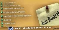 Jobboard wp plugin wordpress pro