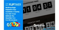 Jquery fliptimer countdown plugin wordpress timer