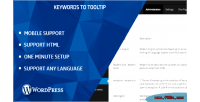 Keywords wp to tooltip