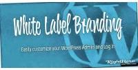 Label white wordpress for branding