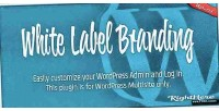Label white branding multisite wordpress for