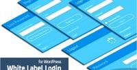 Label white wordpress for login