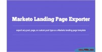 Landing marketo page exporter
