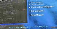 Lazyloader auto wp plugin