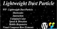 Lightweight wp dust particle