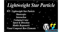 Lightweight wp star particle