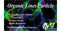 Lines organic particle