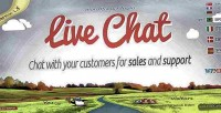 Live chat plugin for support & sales live