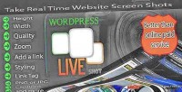 Live wordpress shot