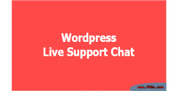 Live wordpress support chat