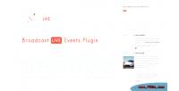 Live wplivedojo event plugin broadcast text