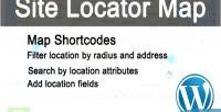Locator site map