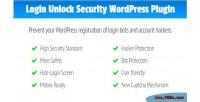 Login lus unlock security for wordpress modern a & safe captcha word for slide