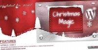 Magic christmas aa plugin wordpress snow