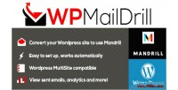 Mandrill wpmaildrill for wordpress