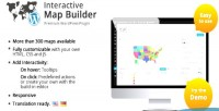 Map interactive builder