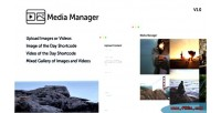 Media wordpress manager