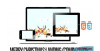 Merry christmas illustrated animated plugin soon coming