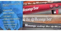 Message wordpress bar