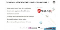 Metadata taxonomy searching js angular plugin