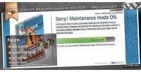 Mode maintenance wordpress plugin