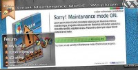 Mode maintenance wordpress plugin