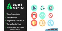 Multisite beyond utilities admins for network wordpress