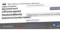 Names domains wordpress for checker