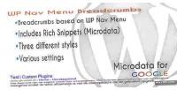 Nav wp menu breadcrumbs