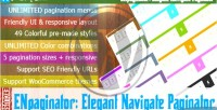 Navigate elegant wordpress for paginator