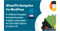 Navigation wheel wordpress for tabs