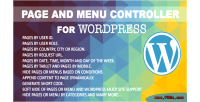 Nextgen page & menu wordpress for controller