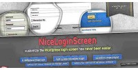 Nice screen login customize page login admin nice