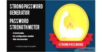 Password wp meter strength generator